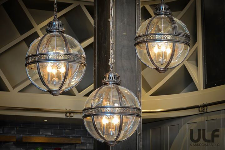 Kitchen island lights from one